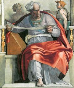 Joel (Michelangelo) - Gallery of Sistine Chapel ceiling - Wikipedia, the free encyclopedia