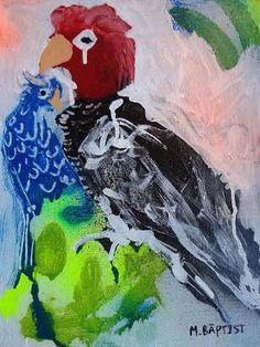 www.ompomhappy.com interview with Australian raw artist Marty Baptist #art #rawart #MartyBaptist #artbrut #modernart #contemporaryart #artcontemporain #kunst #painting #australianart #australianartist #artgallery #artist #studio #artstudio