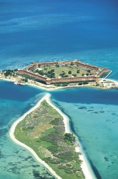 Fort Jefferson and the Dry Tortugas islands in the Florida Keys