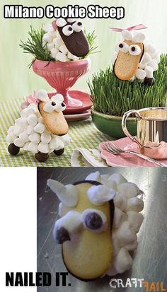 Milano cookie sheep�?