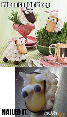 Milano cookie sheep�?
