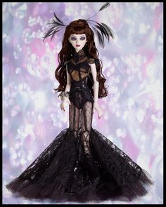 Evangeline Ghastly Black Diamond Resin 25th Anniversary