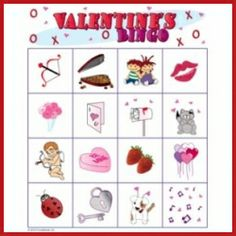 valentine's day bingo ideas