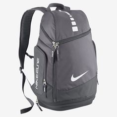 Nike Hoops Elite Max Air Team Basketball Backpack Charcoal Dark GreyWhite     Continue to the product at the image link. 539c05ff82edc