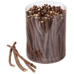 Zoethout...these are wooden sticks we would suck on and it was a licorice flavor...growing up with this as candy I think it's the norm...but had I not been used to it I would question this item...a bit humorous.