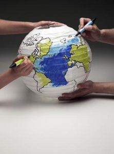 Cool geography art activity!
