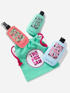 The Triple Threat (with Rapid Watermelon Shimmer) – The Fox Tan USA Plum Fruit, Olive Fruit, How To Tan Faster, Bronze Skin, Natural Tan, Tan Skin, Sweet Almond Oil