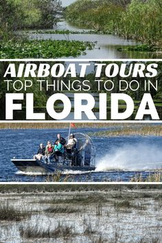 19 Best Airboat Rides In florida images | Airboat rides