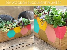 How To: Make a Modern Wooden Tabletop Planter -- From Scratch! » Curbly   DIY Design Community