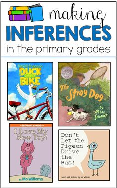Making inferences in the younger grades! Lessons, books, and freebies to use in your classroom