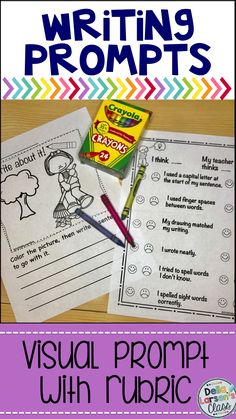 Work on writing with prompts for beginning writers with visual writing prompts for first grade and kindergarten beginning writers. Writing Prompts For Writers, Work On Writing, Picture Writing Prompts, Opinion Writing, Writing Practice, Kindergarten Writing, Kindergarten Teachers, Kindergarten Readiness, Teaching Writing