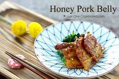 Honey Pork Belly Recipe   JustOneCookbook.com