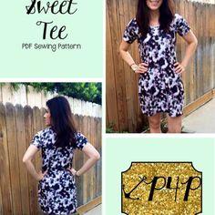 Sweet Tee Sweet Tee Tees Pattern