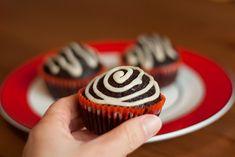 Cupcake de chocolate fácil (Vegan)