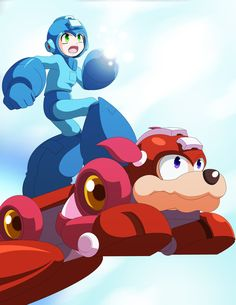 Mega Man Rush Jet by Jet-Striker on deviantART