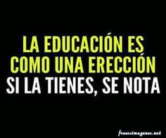 . educación