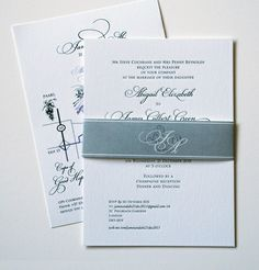a component of my wedding invitations. Letterpress with a cigar band ! exactly what I want.