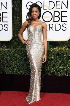 Naomi Harris: Golden Globes 2017 Best-Dressed Celebrities