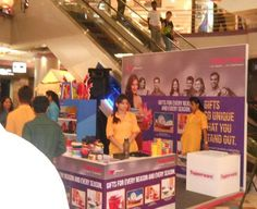 #tupperware event is on full swing at #Forum today. Check it out for Offers galore.