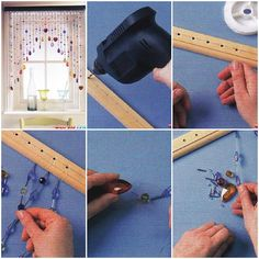 How to make Cute Blinds Curtain step by step DIY tutorial instructions, How to, how to do, diy instructions, crafts, do it yourself, diy website, art project ideas