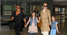 Nicole Kidman and Keith Urban Make Airport Style a Family Affair - Vogue