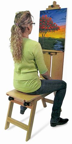 Best Caballo Artist Donkey Bench With Easel C R E A T I