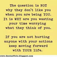 Keep moving forward....