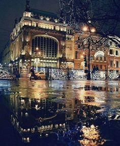 St. Petersburg, Nevsky Prospekt. Shop Elysee ❤
