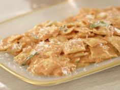 Giada's Cheese Ravioletti in Pink Sauce | Giada De Laurentiis