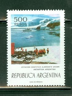 Argentina - Antarctica on stamps theme. Antarctica, Stamp Collecting, Postage Stamps, Around The Worlds, America, Brown, Ebay, Cigar, Collection