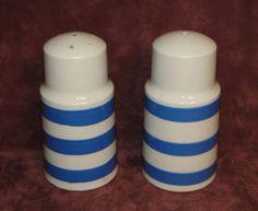 "T G GREEN CORNISHWARE CORNISH POTTERY SALT & PEPPER SHAKERS 4 1/2"" TALL   | eBay"