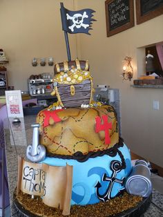 pirate cake by Royalty_Cakes, via Flickr