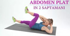 abdomen-plat-in-2-saptamani Ab Routine, Bicycle Crunches, Abdomen Plat, Strength, Abs, Sports, Hs Sports, 6 Pack Abs, Beetles