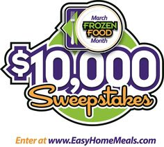 Don't be left out in the cold—enter to win our March Frozen Food Month $10,000 Sweepstakes!