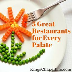 Looking for a great restaurant for the family this weekend? Here are a few suggestions for you.