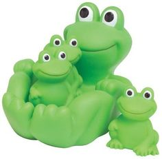 Frog Family Bath Toy - Floating Fun! by D Distributing, http://www.amazon.com/dp/B003HCYOCI/ref=cm_sw_r_pi_dp_91Tvrb1F4RKAA