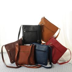 Casual PU Leather New Shoulder Bag Fashion Womens Crossbody Messenger Sling Bag