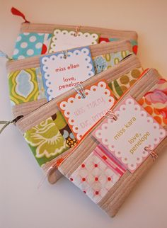 zippered bags with patches    sewing | lots of pink here!