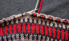 2d643378ed99d5 Tin Can Knits - How to knit Fair Isle -Free Pattern Download. Sweater  Knitting