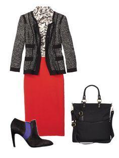 Red skirt idea's