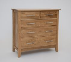 Hereford Oak 3 + 2 Chest - Hereford Oak is an extensive and versatile range crafted from oak sourced from eco-friendly hardwood forests. This light oak range is carefully constructed using traditional artisan methods of craftsmanship which ensures each piece has a robust structure and style which is designed to last. Featuring a wide spectrum of carefully selected pieces for dining, living home, office and bedroom, this solid oak range is certain to blend with many interior settings..