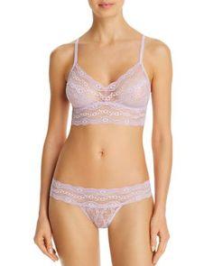 tempt'd by Wacoal Lace Kiss Bikini - Winsome Orchid Women's Lingerie Sets, Jolie Lingerie, Bra And Panty Sets, Bra Lingerie, Women Lingerie, Lace Bikini, Sexy Bikini, Bikini Girls, White Bikinis