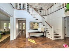 Gorgeous entryway! - Divide And Conquer - Adele's New Los Angeles Home Is Seriously Impressive  - Photos
