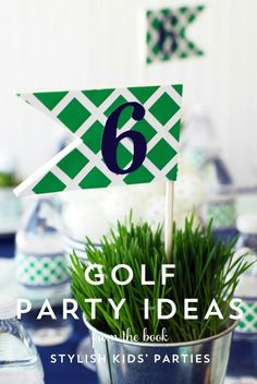 Ideas for golf party