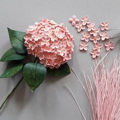 Quilled hydrangea work in process quilling quillingart handmade paperart paperartist paperflowers paperleaves hydrangea Neli Quilling, Paper Quilling Flowers, Paper Quilling Tutorial, Quilling Paper Craft, Paper Flowers Diy, Paper Crafts, Origami Wall Art, Fabric Origami, 3d Origami