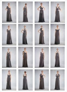 Jenny Yoo convertible Nabi bridesmaid dresses