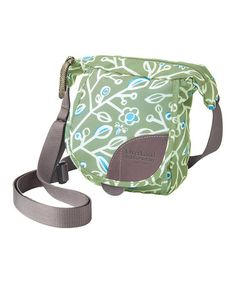 Look at this #zulilyfind! Moss & Blue Jay Floral Placer Crossbody Bag by OverLand Equipment #zulilyfinds