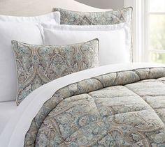 Mackenna Comforter & Sham | Pottery Barn