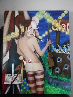 """Orignal acrylic on canvas 18""""x24"""""""