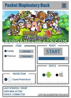 Pocket Maplestory Hack, Cheats, & Tips for Candy & Premium  #Maplestory #PocketMaplestory #RPG #Strategy http://appgamecheats.com/pocket-maplestory-hack-cheats-tips-candy-premium/
